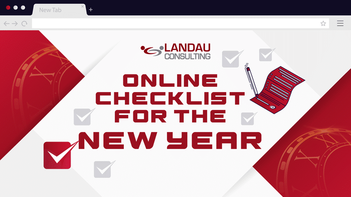 Online Checklist for the New Year