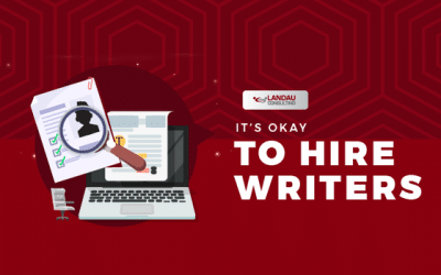 It's Okay to Hire Writers